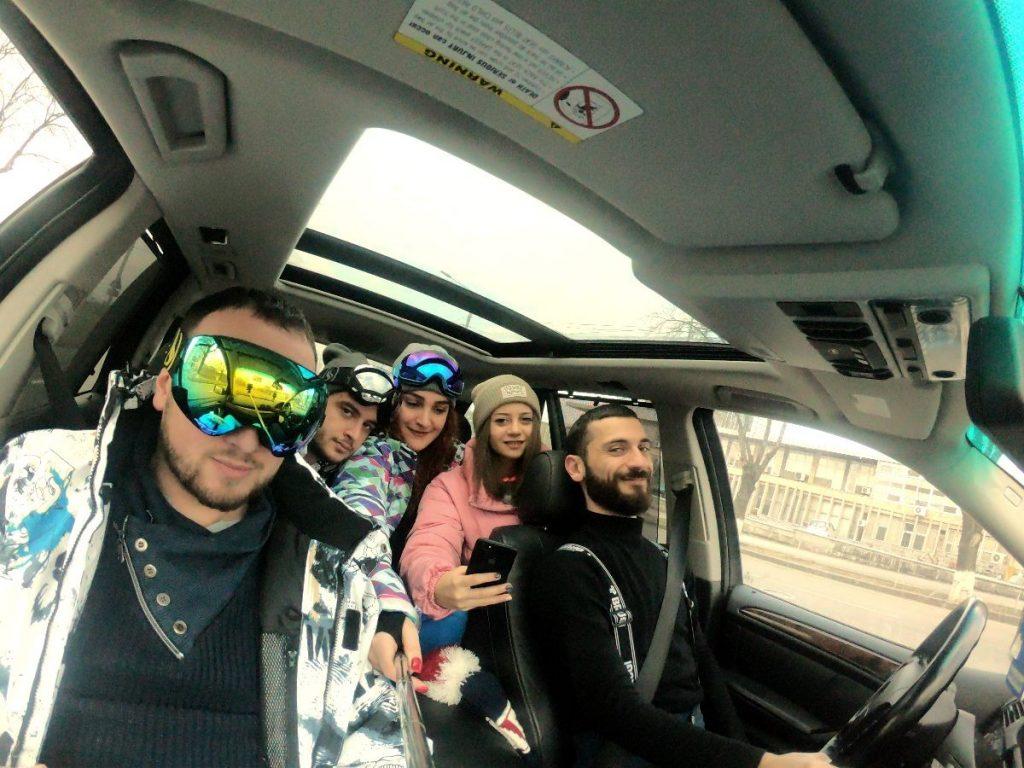 Едем на горонлыжный курорт Цахкадзор