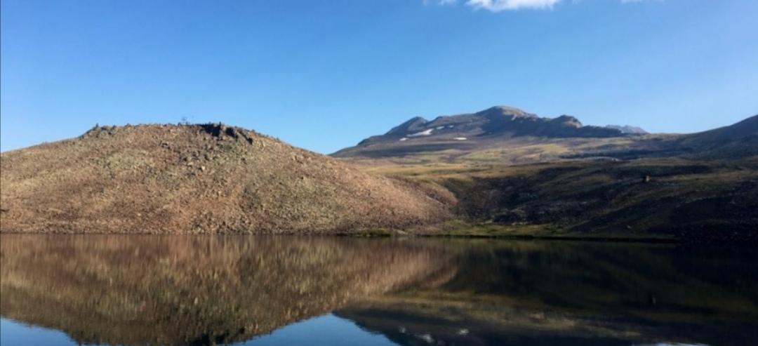Озера на горе Арагац