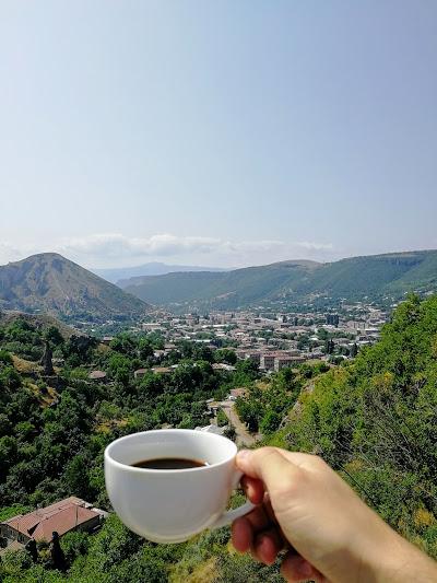 Вид на город Горис