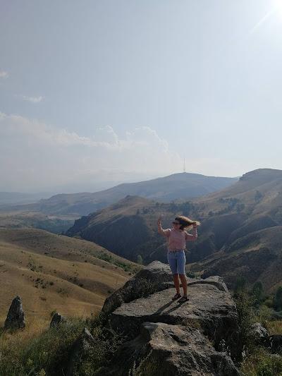 Вид с плато обсерватории Караундж