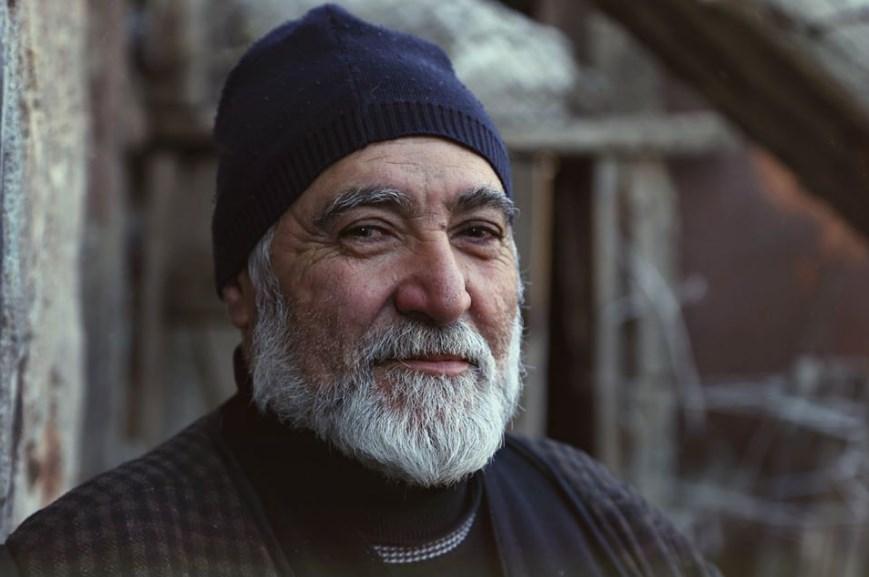 Дедушка из проекта Saghsara